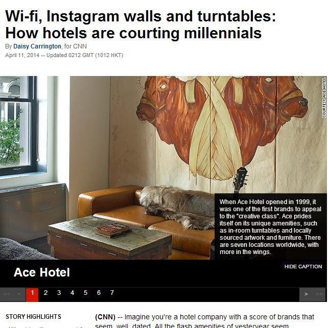 Hotels Courting Millennials
